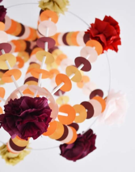 Make a Pajaki-Inspired Paper Chandelier by London Craft Club - crafts in London