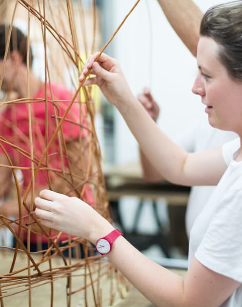 Sculptural Willow Weaving by Creative nature HQ - crafts in London