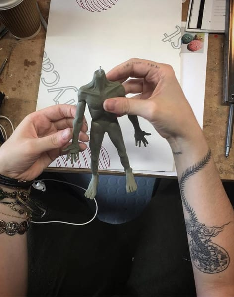 5-Day Stop-Motion Animation Advanced Silicone Puppet Building Workshop by Ctrl+ART+Dlt - art in London