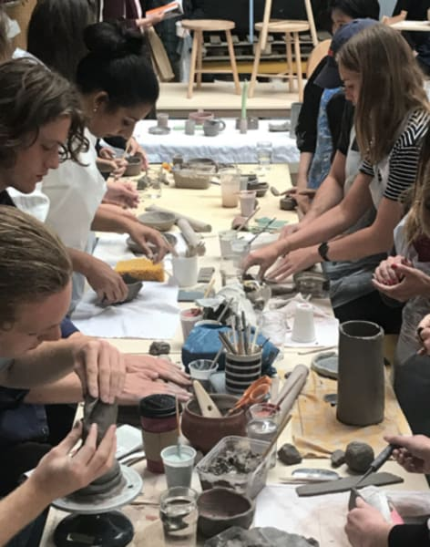 Ceramics Making for Groups by Collective Matter - art in London