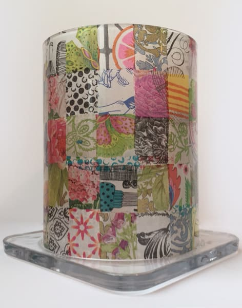 Glass Decoupage Workshop: Upcycle a Storm Lamp by Gabriela Szulman Art - crafts in London