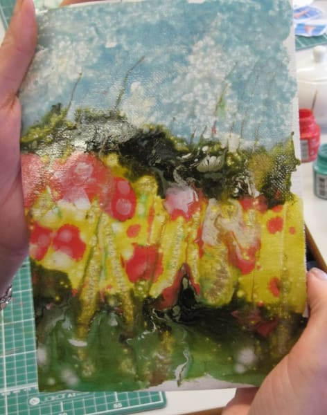 Pebeo Mixed Media Experimenting by Crafty Arts - art in London