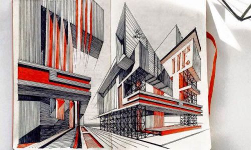 Architecture Drawing Class perspective drawing course - obby