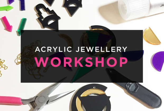 Acrylic Jewellery Work Obby