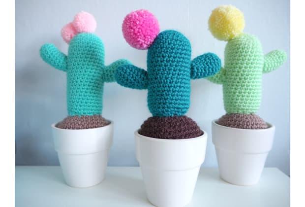 Cactus Crochet PATTERN Amigurumi cactus DIY tutorial crochet | Etsy | 420x620