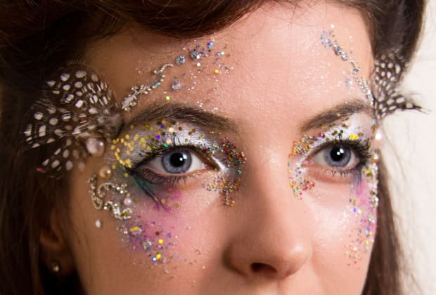 Glitter Festival Face And Body Art Obby