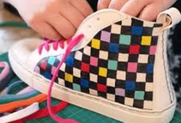 Make your own sneakers   Obby