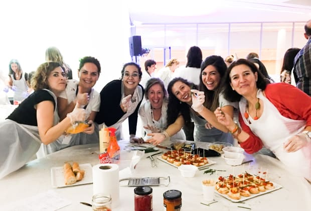 Corporate 'The Tapas Challenge' Team Building Session | Obby