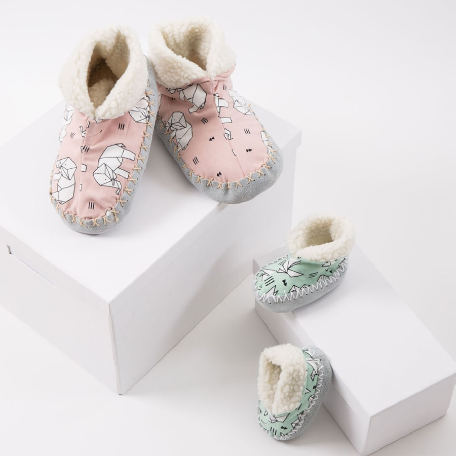 Make Cosy Slippers! by Suzie London - crafts in London