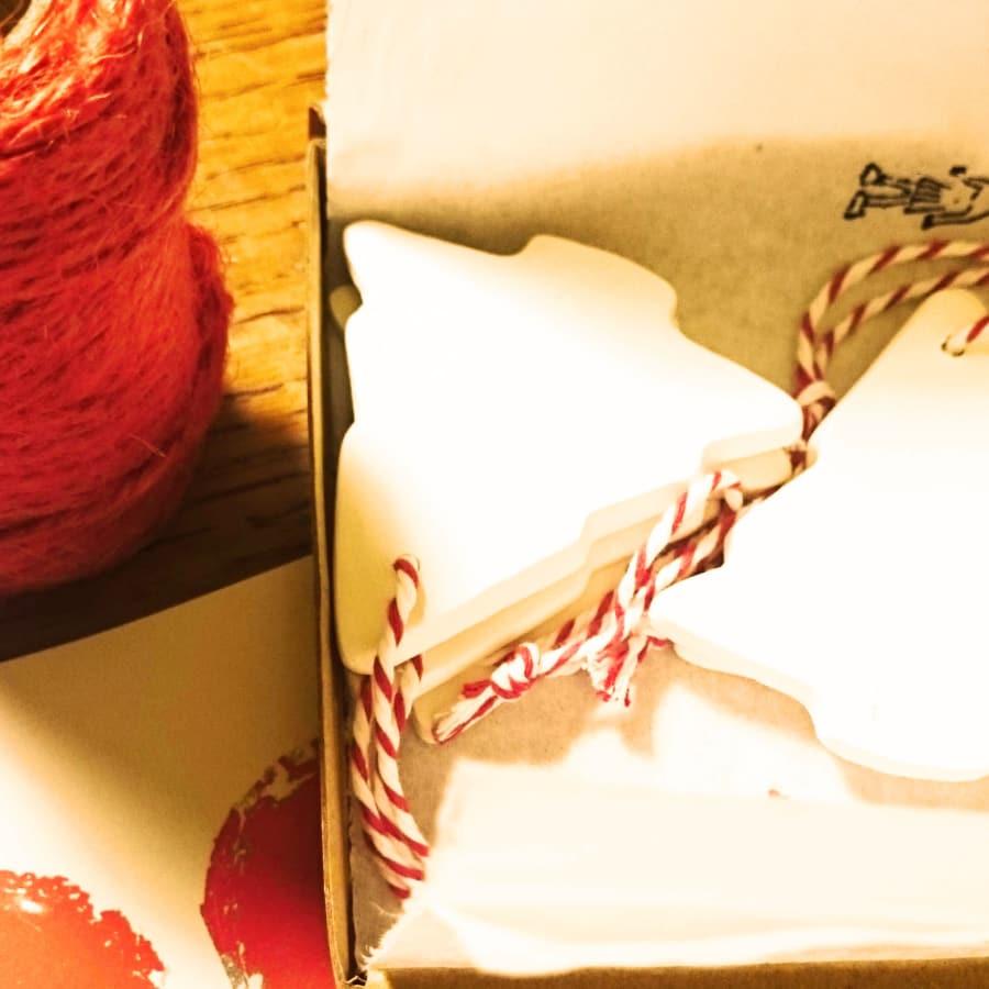Make your Ceramic Christmas Decorations by Sylva Ceramics - art in London