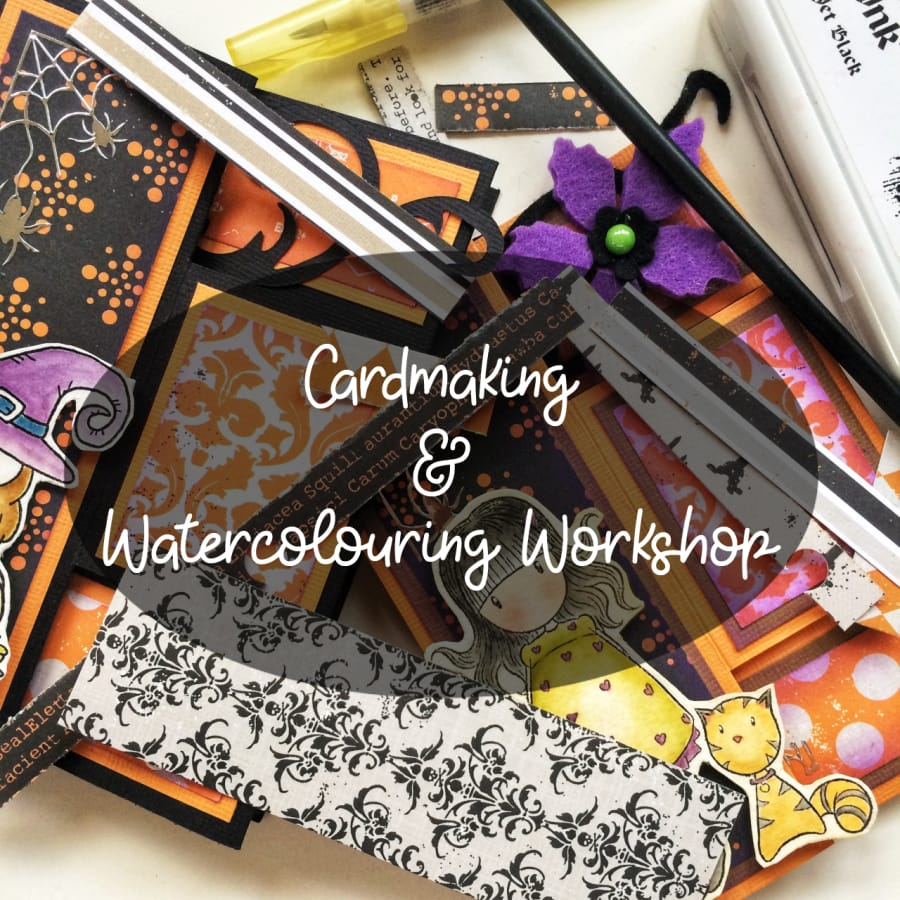 Cardmaking and Watercolouring by Silvia Scrap - crafts in London