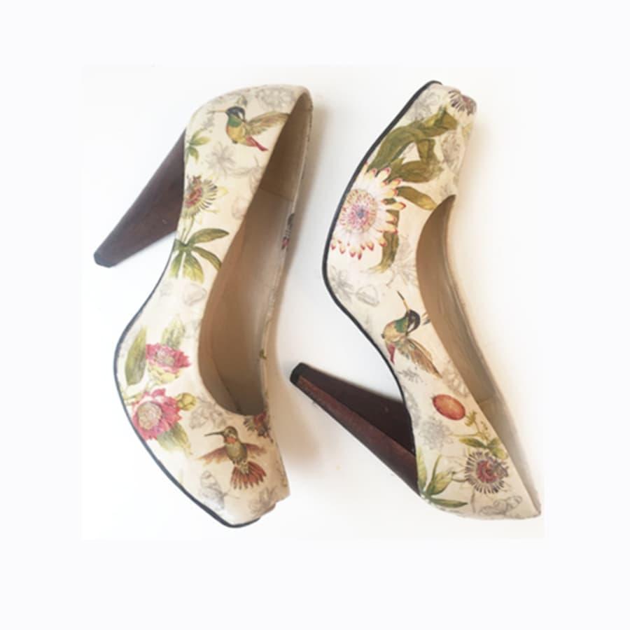 Shoe Decoupage Workshop by Gabriela Szulman Art - crafts in London