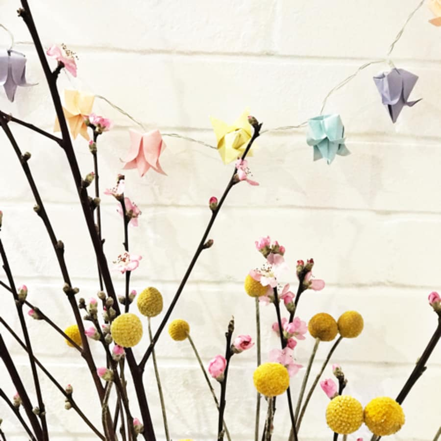 Origami Fairy Light Workshop ONLY £20 - Popcorn Craft Club by Tea & Crafting - crafts in London
