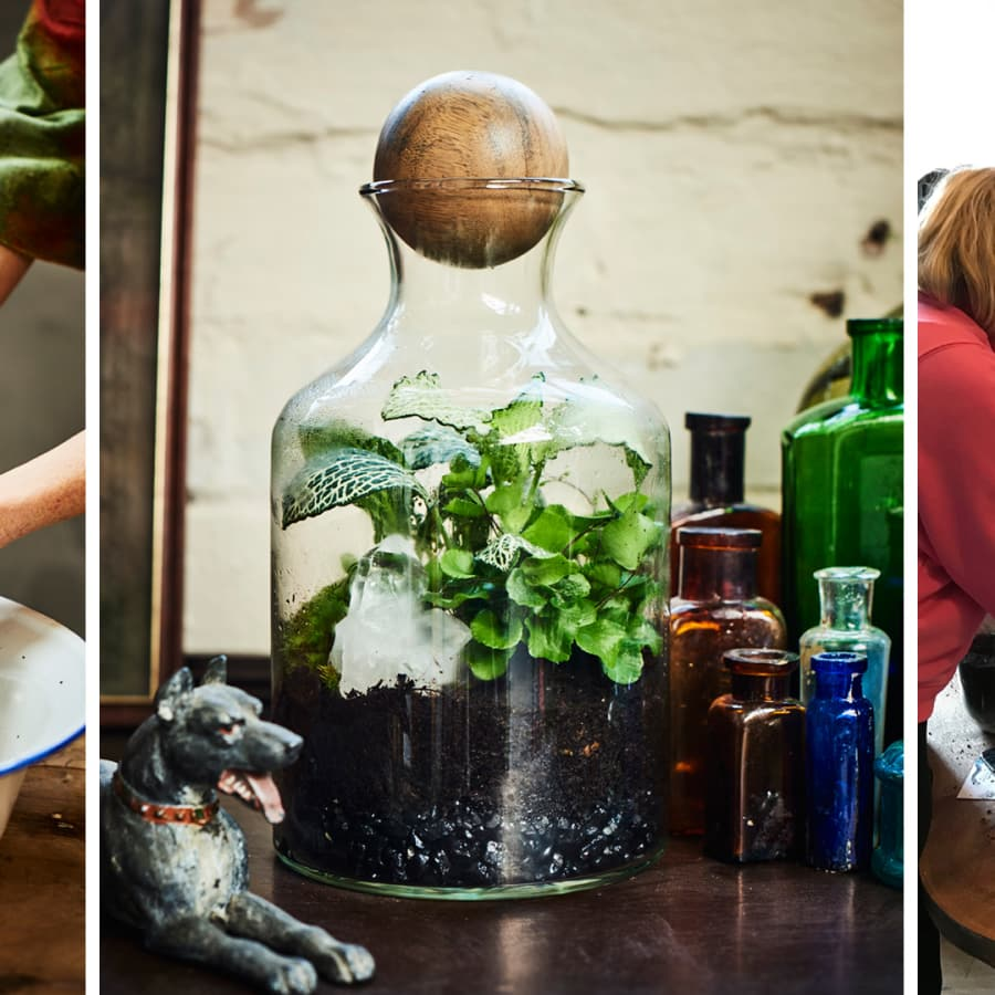 Tropical Terrarium Class with Tool Making - Group class by Alyson Mowat Studio - crafts in London
