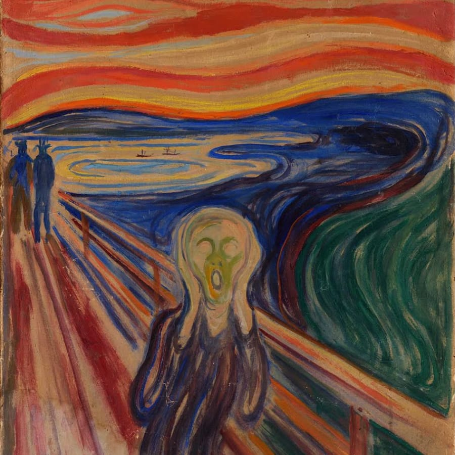 Paint The Scream! by PopUp Painting - art in London