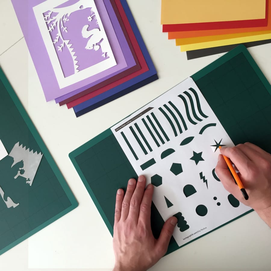 Introduction to Paper Cutting by Creative Happy London - crafts in London