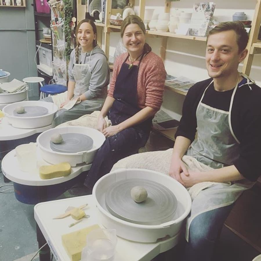 Pottery on the Wheel - Thursday Evenings by Clover & Emilia Pottery - art in London