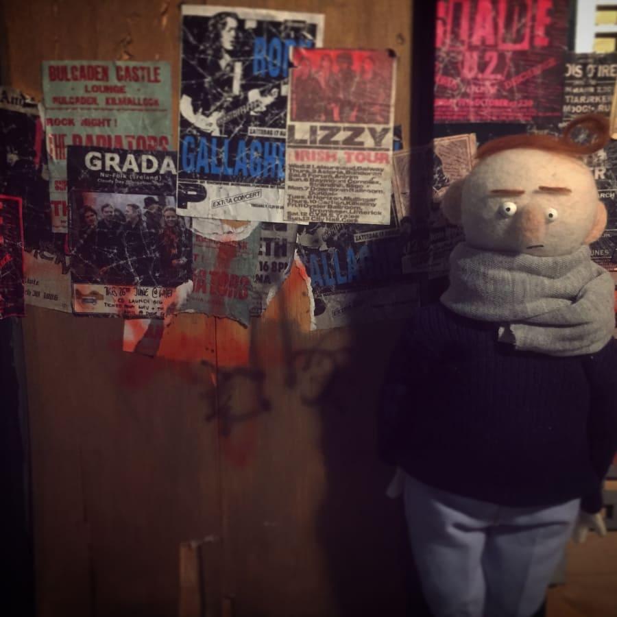 5 Day Stop-Motion Animation Wool/Felt Advanced Puppet Building Workshop by Ctrl+ART+Dlt - art in London