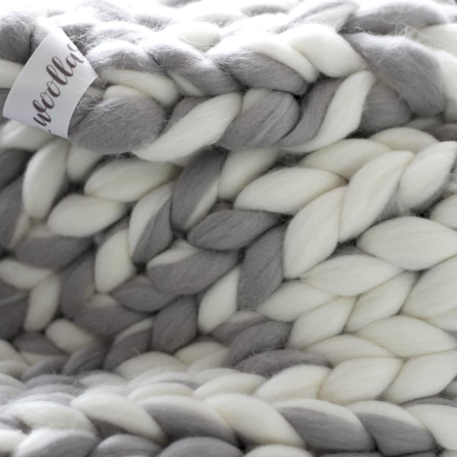 Arm Knitted Fatso Blanket by The London Loom - crafts in London