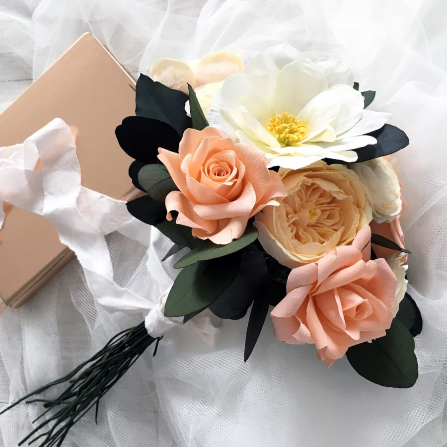 Make Your Own Paper Bouquet Obby