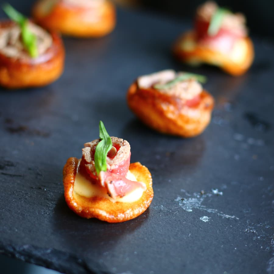 Easy Canapé Making Class by The Avenue Cookery School - food in London