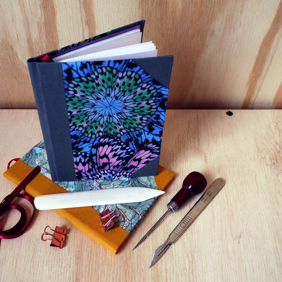Create a Signature Notebook! by Amber Cooper Davies - crafts in London