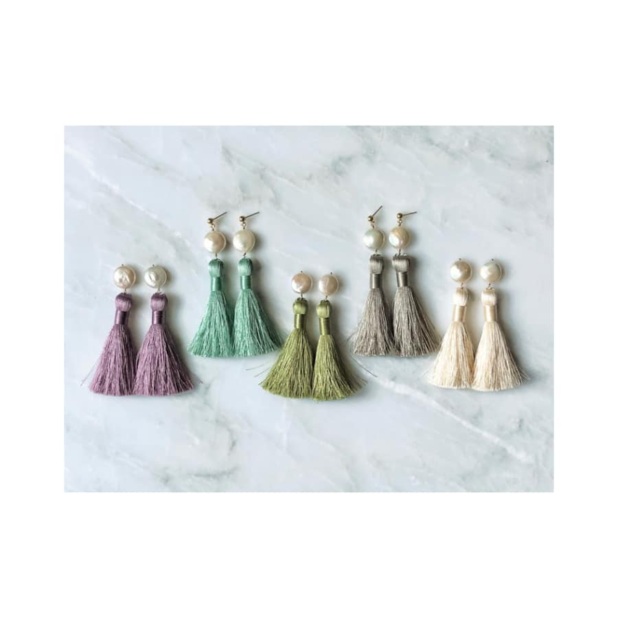 Tassel Earrings Workshop by Marissa Irwin Designs - crafts in London
