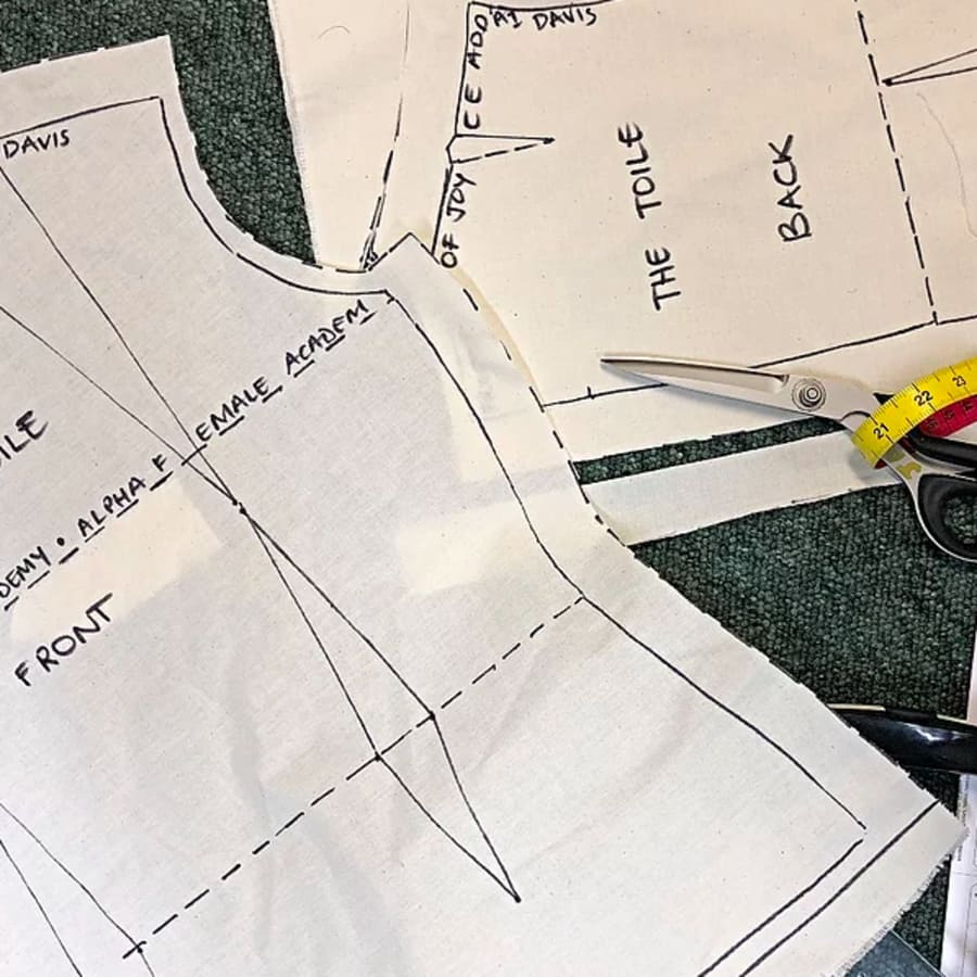 Pattern Cutting - Drafting Top - Unit 1 by Alpha Female Academy - crafts in London