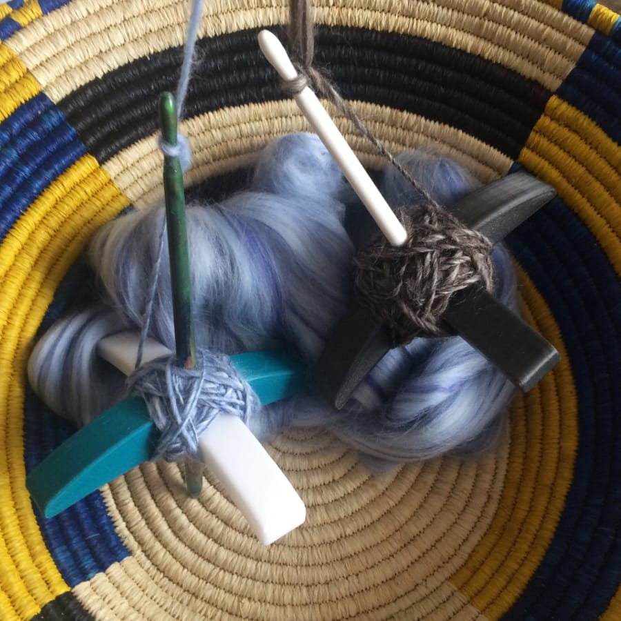 3D Printed Turkish Drop Spindle Workshop by EzzyStitch - crafts in London