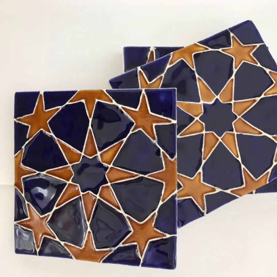 Glaze your own Moroccan Ceramic Tiles Workshop by Deptford Does Art - crafts in London