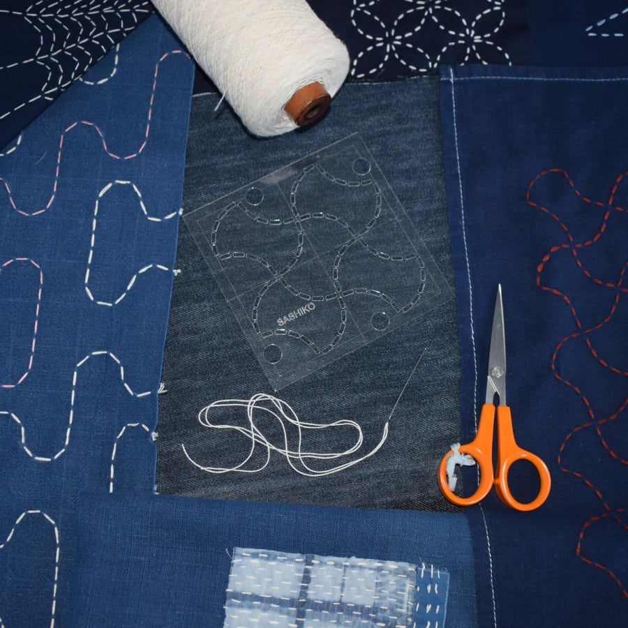 Sashiko Embroidery Workshop with Rob Jones by The Village Haberdashery - crafts in London