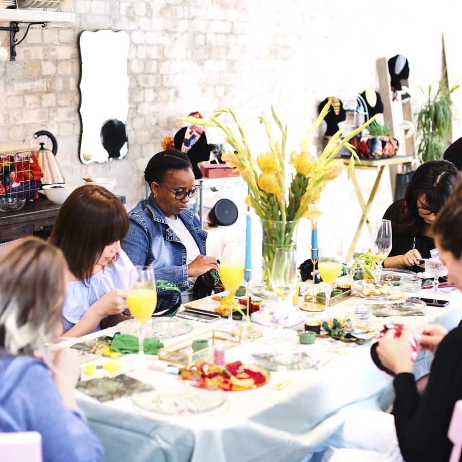 DIY Headband Workshop by Stepthirtyone - crafts in London
