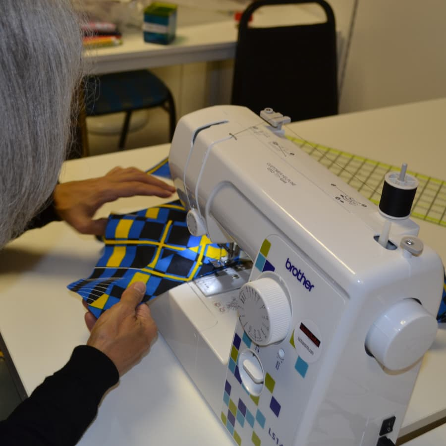 Introduction To The Sewing Machine by Luchi and Ota - crafts in London