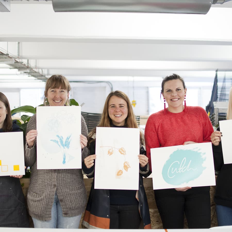 Beginners Paper Screen Printing Workshop by 3rd Rail Print Space - art in London