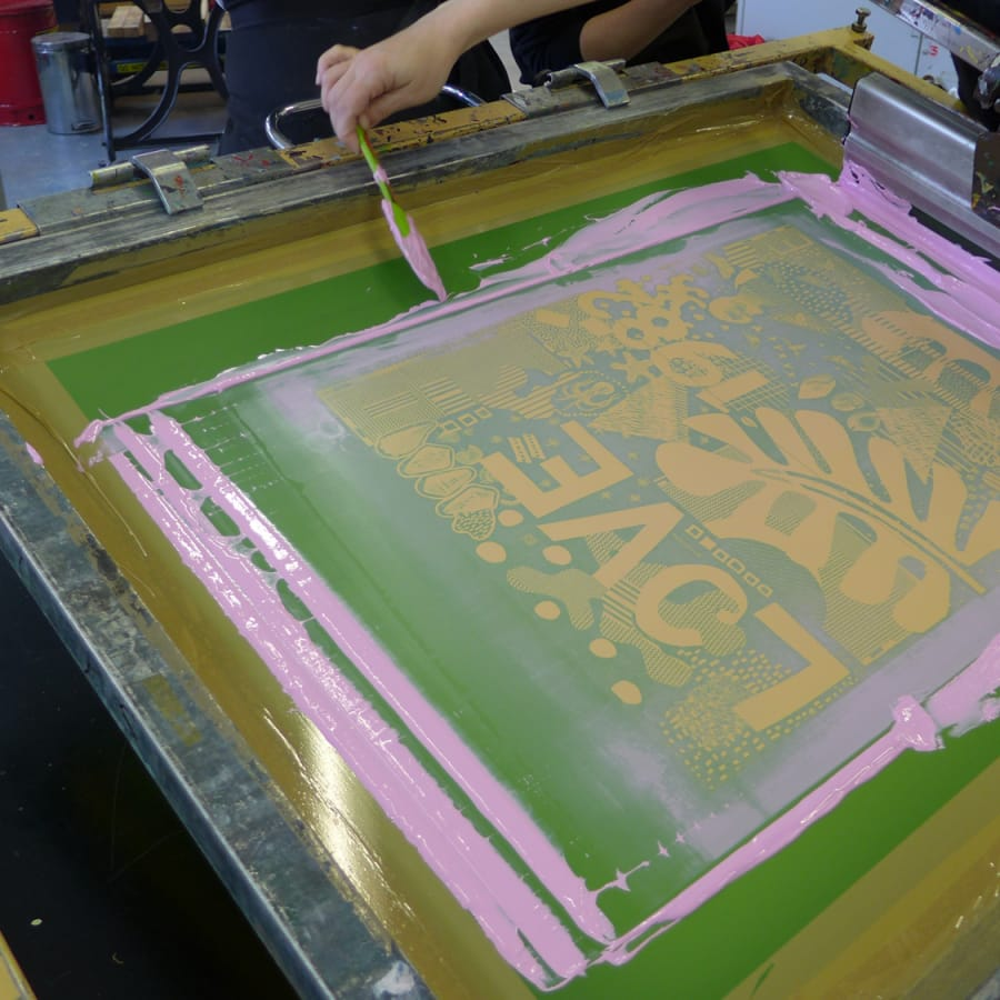 Introduction to Screen Printing by London Print Studio - art in London