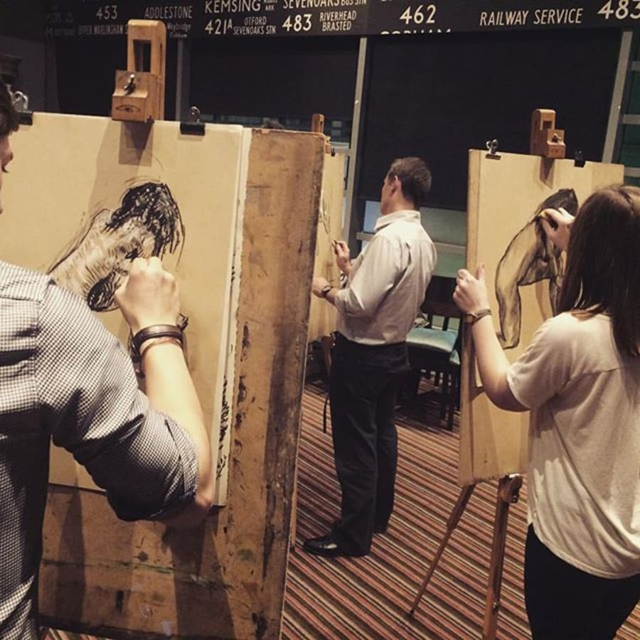 Drink and Draw - Life Drawing Class by The Merry Nude - art in London