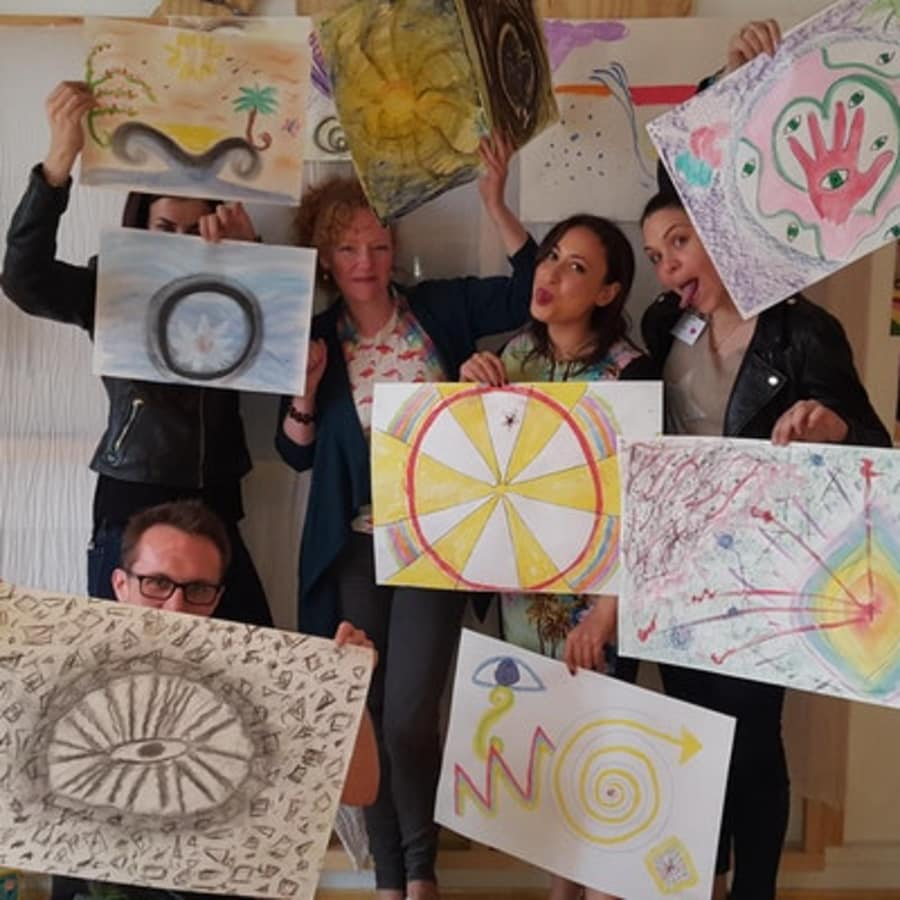 Joyfinding: Paint Your Purpose by Pearl and Groove - mindfulness-and-wellbeing in London