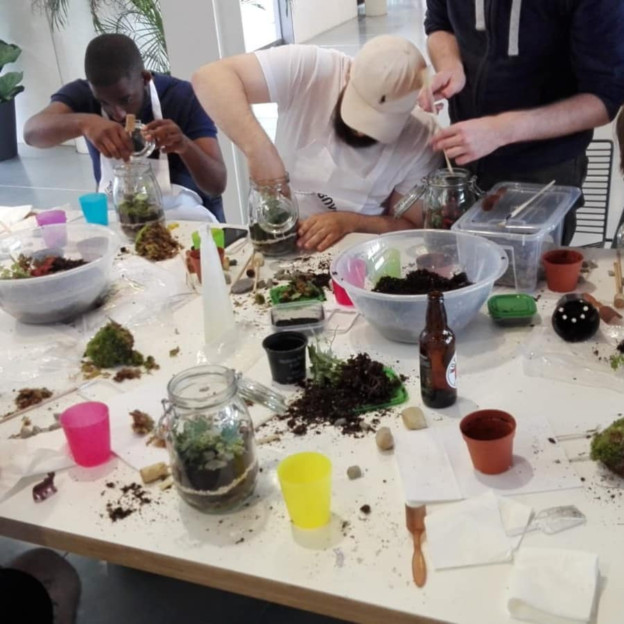 Terrarium Masterclass Eco-System at Obby East Village with Prosecco!! by Botanical Boys - crafts in London