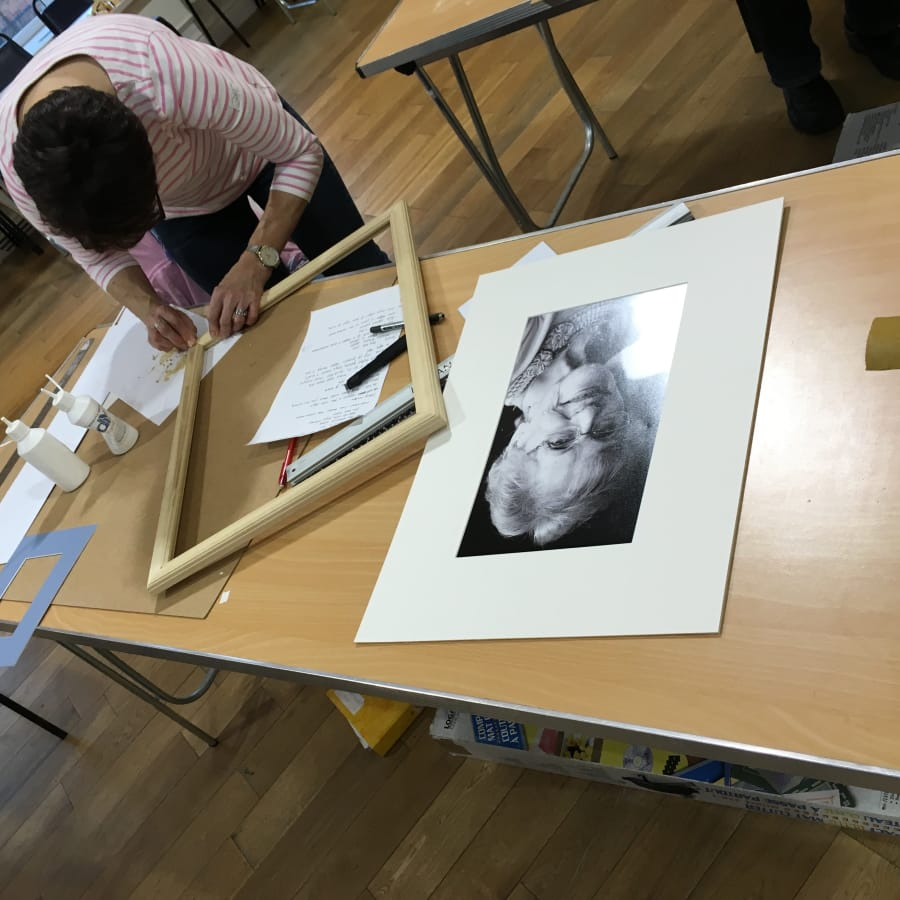 Picture Framing Weekend: Make and Mount Your Own Frame! | Obby