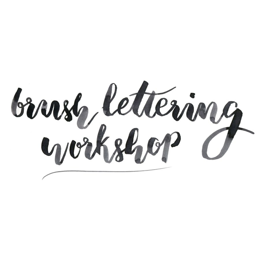 Brush Lettering and Exhibition Tour by London Craft Club - art in London