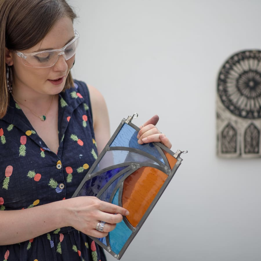 Stained Glass for Beginners (Leaded method) by Aimee McCulloch Stained Glass - art in London