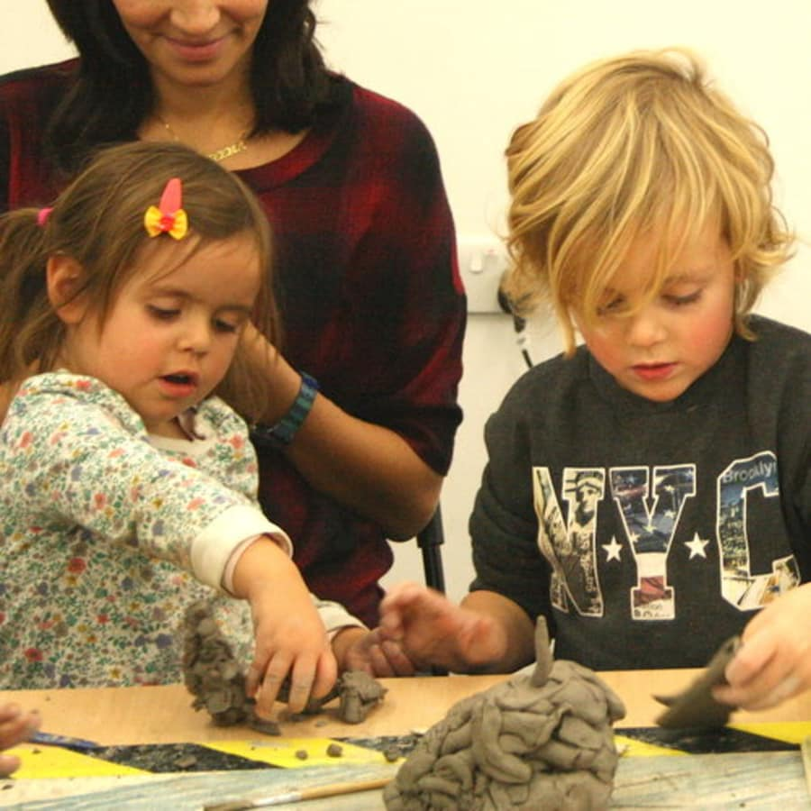 Children's Clay Party by Collective Matter - art in London