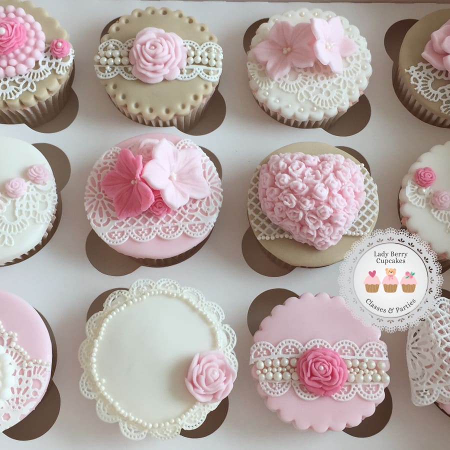 Sugar Lace Cupcakes by Lady Berry Cupcakes - food in London