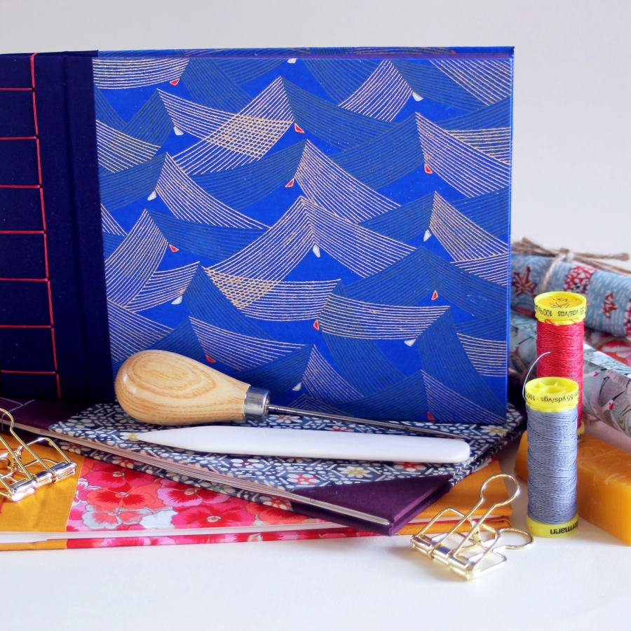 Create a Traditional Japanese Bound Book by Amber Cooper Davies - crafts in London