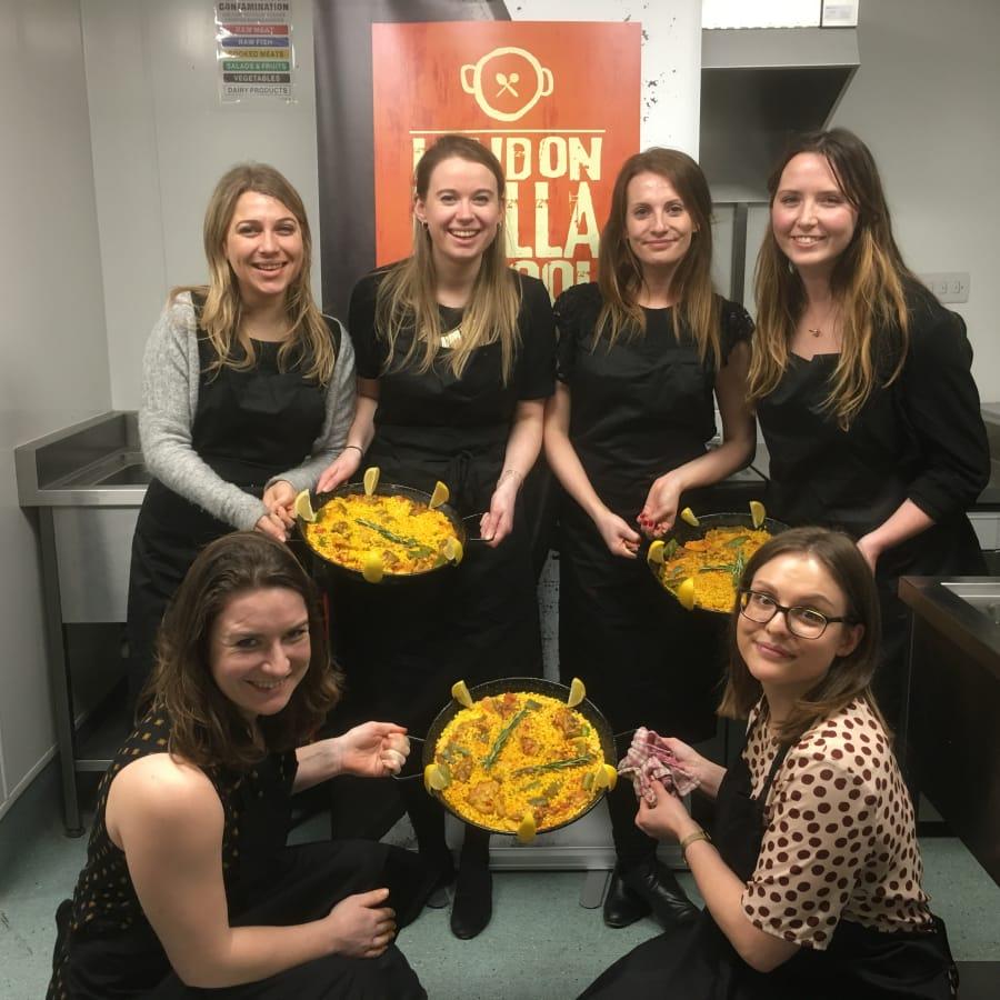Seafood Paella Cooking Class: Battersea by London Paella School - food in London