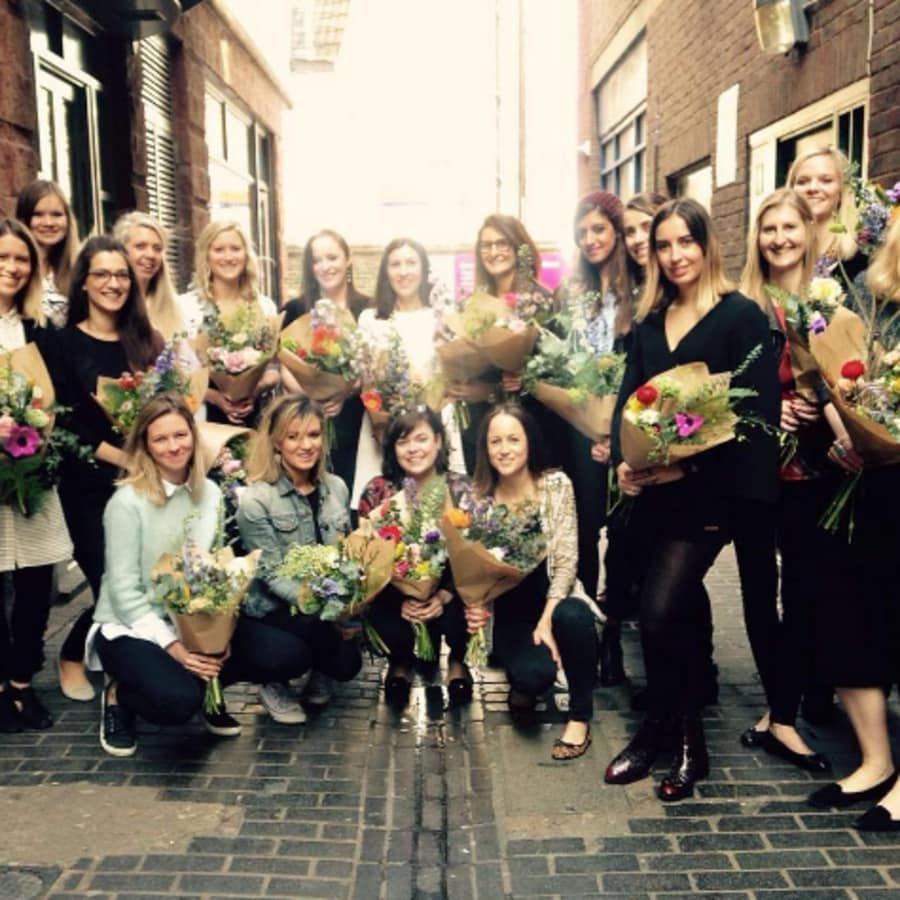 Hand Tied Bouquet Class Workshop by Grace & Thorn - crafts in London