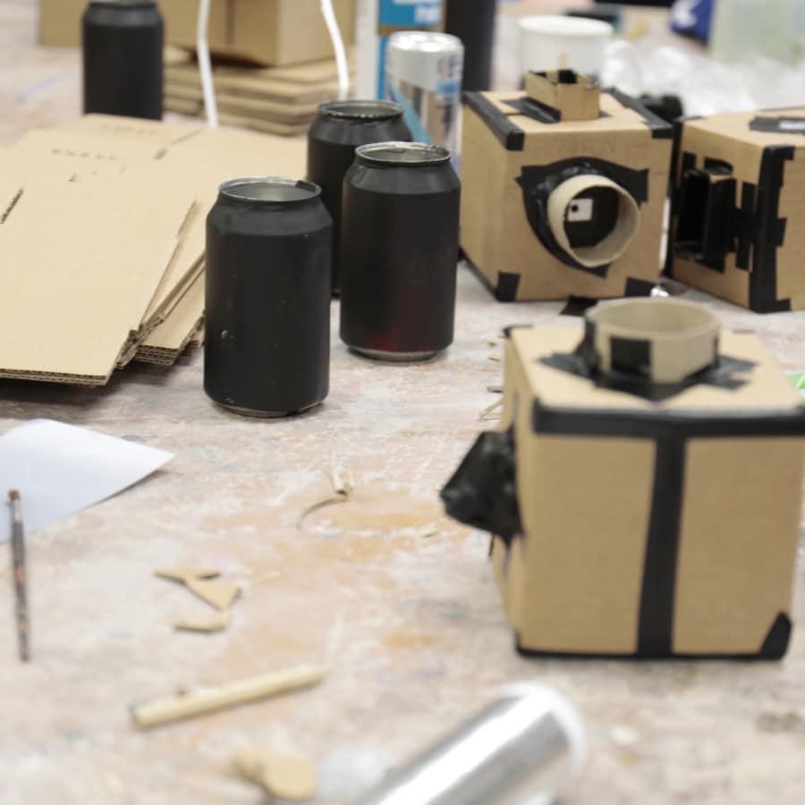 Shoebox Pinhole Camera Making Workshop At Obby East Village By Magda Kuca Photography