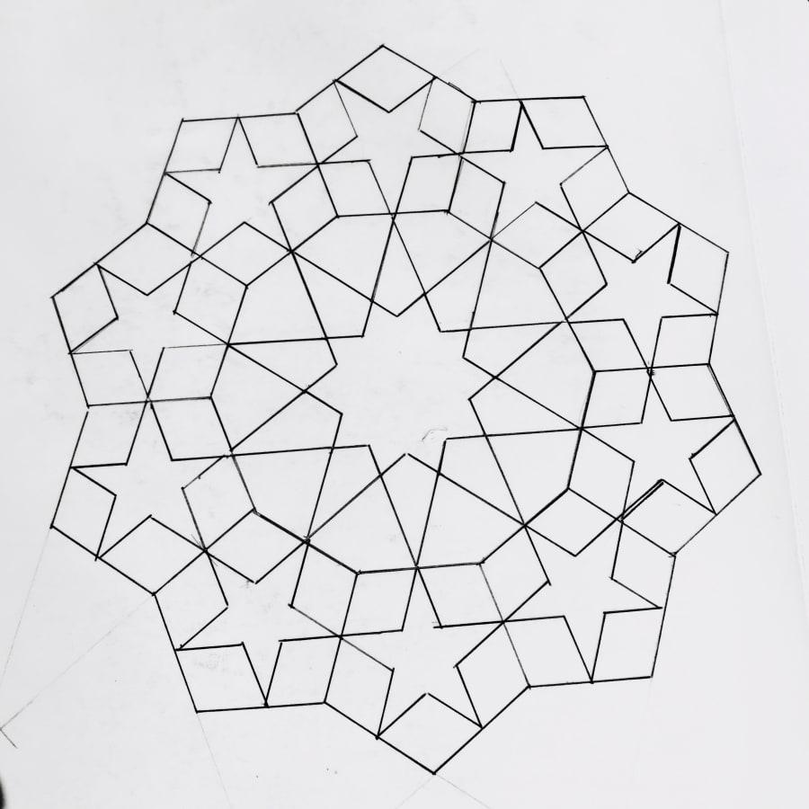 Geometry Patterns Workshop by Deptford Does Art - art in London