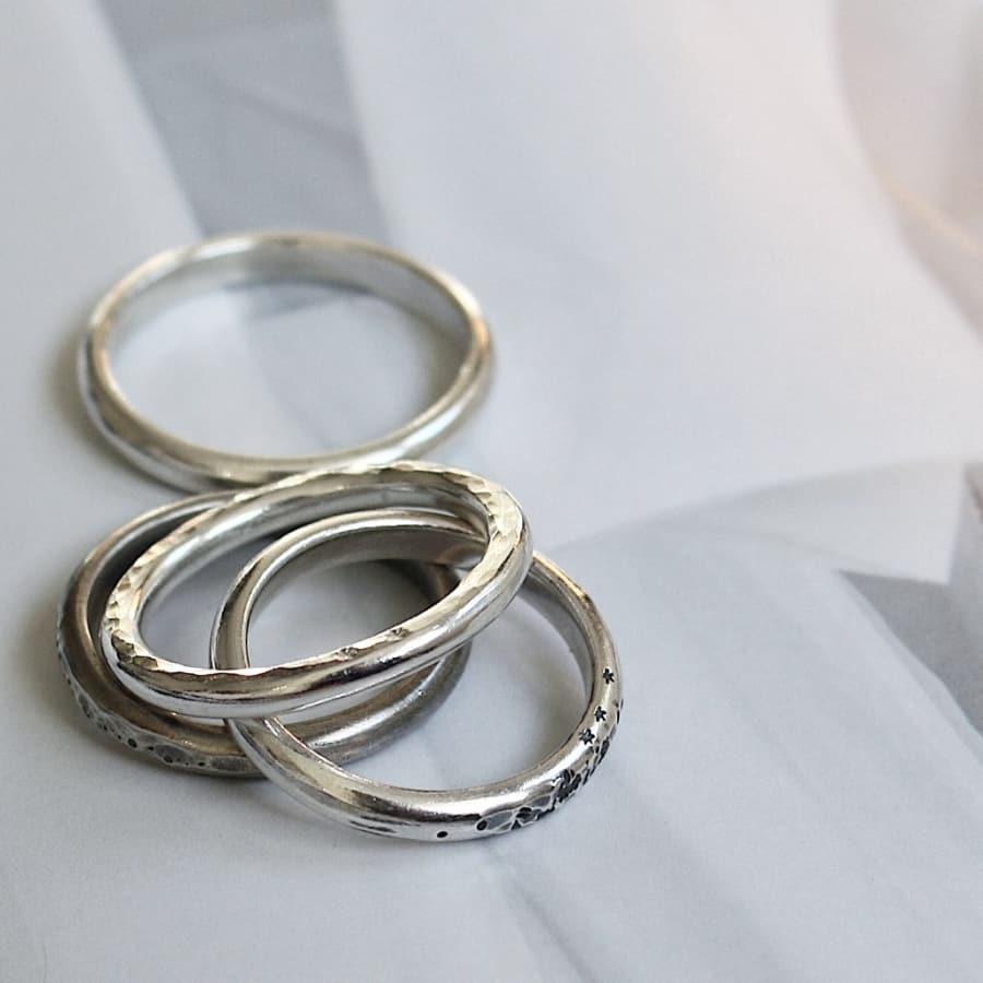 Silver Stackable Ring Workshop by J&J Workshops - crafts in London