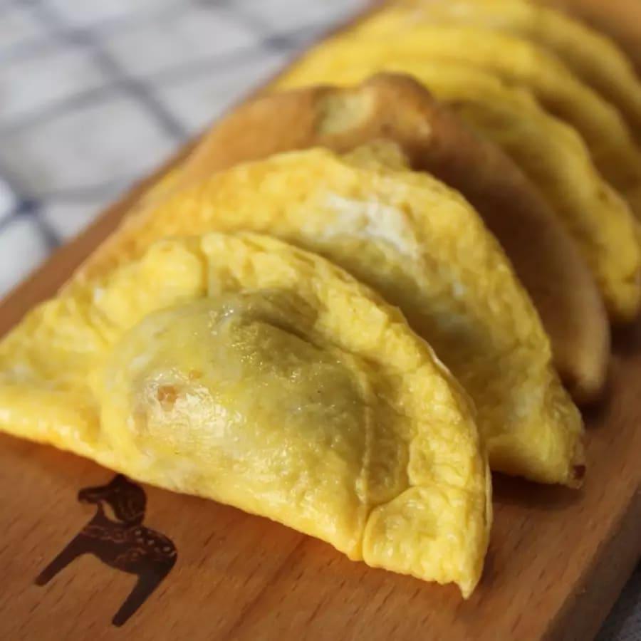 Egg Skin Dumpling by Oriental Food - food in London